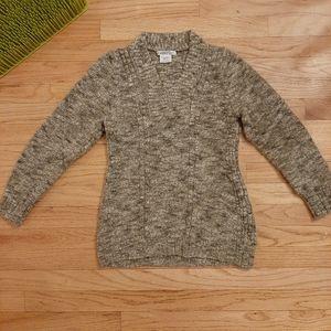 ExOfficio Sweater Women XS 0-2 Wool Blend Gray